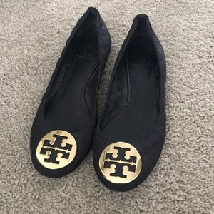 Tory Burch quilted flat